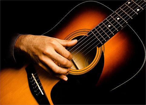 Для такой гитары можно использовать